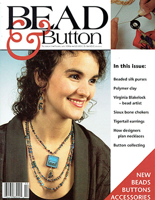 Bead Button Magazine Review